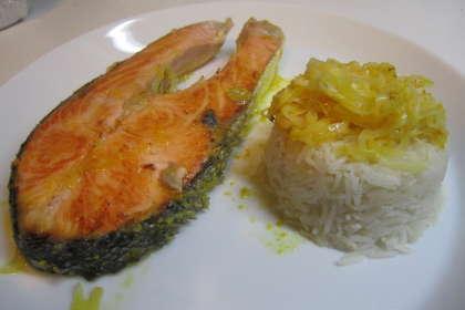 salmone pilaf