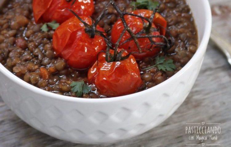 zuppa-lenticchie-pomodorini-forno